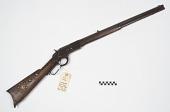 view Winchester Model 1873 .38 caliber carbine digital asset number 1
