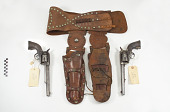 view Colt Frontier .45 caliber revolvers, belt, and holsters digital asset number 1