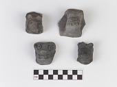 view Vessel fragment/Potsherd with animal effigy digital asset number 1
