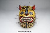 view Mask worn by jaguar dancer during the Rain Ceremony digital asset number 1