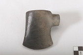 view Pipe bowl in the form of a tomahawk or axe digital asset number 1