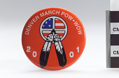 view Denver March Powwow admission button digital asset number 1