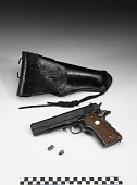 view Pistol, holster, and bullet digital asset number 1