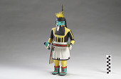 view Angakchina (Long Hair) kachina digital asset number 1