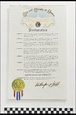 view City and County Proclamation regarding the Denver March Powwow digital asset number 1