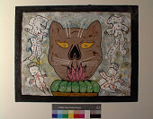 view Cat Head With Figures digital asset number 1