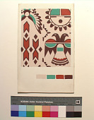 view Textile design painting digital asset number 1