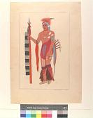view A Sauk Chief, 1780 digital asset number 1