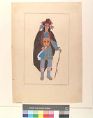 view An Ojibway Chief, 1820 digital asset number 1