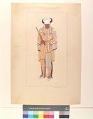 view An old man, Blackfoot, 1850 digital asset number 1
