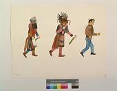 view Kachinas Chasing Hopi Policeman digital asset number 1