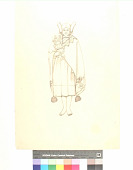 view Hopi woman; (reverse) Man in costume digital asset number 1