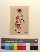 view Pueblo Flute Dancer digital asset number 1