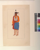 view An Oto Chief, 1880 digital asset number 1
