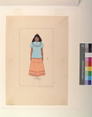 view Apache School Girl, 1948 digital asset number 1