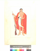 view A Mohawk Chief, 1750 digital asset number 1