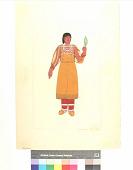 view An Ojibwa Girl, 1850 digital asset number 1