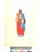 view Portrait of Quanah Parker, the Comanche Chief, 1880 digital asset number 1