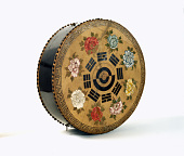 view Drum With 2 Heads - Antique Temple Drum digital asset number 1