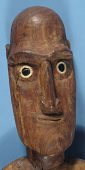 view Carved Wooden Figure, Male (Moai Kva-Kva) digital asset number 1