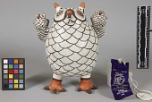 view Pottery Owl And Figure digital asset number 1