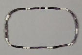 view Necklace Of Old Wampum Beads digital asset number 1