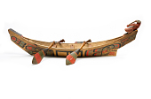 view Model Canoe And Paddles digital asset number 1