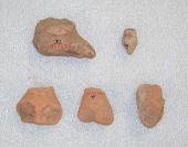 view Figurine And Vessel Sherds digital asset number 1