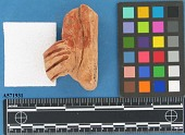 view Effigy fragment, red film digital asset number 1