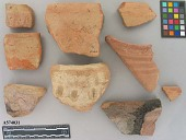 view Decorated Rim Sherd digital asset number 1