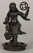 view Bronze Figurine, Being The Lid Of A Censer digital asset number 1