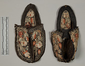 view 1 Pair Quilled Moccasins digital asset number 1