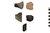 view Culinary Vessel Sherds, Prehistoric Southwestern Pottery Fragments digital asset number 1