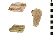 view Corrugated Culinary Ware Sherds, Prehistoric Southwestern Pottery Fragments digital asset number 1