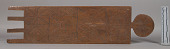 view Wooden Tablet. Ornamented. digital asset number 1