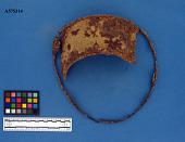 view Iron sheet metal pan side and rim fragments digital asset number 1