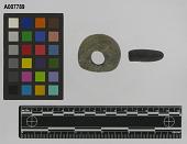 view Bannerstone, fragment, banded slate digital asset number 1