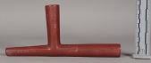 view Sitting Bull's Catlinite Pipe-Bowl & Wooden Pipe-Stem digital asset number 1