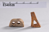 view Two Ivory Objects: Spear Rest and Harness? digital asset number 1