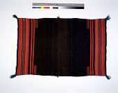 view Small Striped Woolen Blanket Dress digital asset number 1