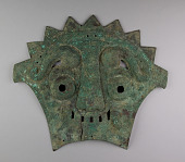 view Bronze Mask and box digital asset number 1