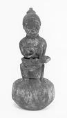 view Pottery figure of mother with child digital asset number 1