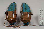 view Beaded Moccasins (Pair) digital asset number 1