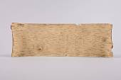 view Birch Bark Scroll, Song Used In Gathering Remedies digital asset number 1