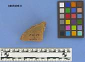 view Sherd, pedestal base, plain digital asset number 1