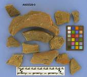 view Sherds, body, red film, applique digital asset number 1