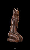 """view Statuette Of Mountain Lion Or Panther Man God """"Key Marco Cat"""" digital asset number 1"""