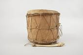 view 2-Headed Wooden Drum And Drum-Stick (2) digital asset number 1