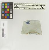 view Ming Blue & White Porcelain Saucer Sherd digital asset number 1