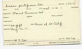 view Lineus pictifrons Coe, 1904 digital asset number 1